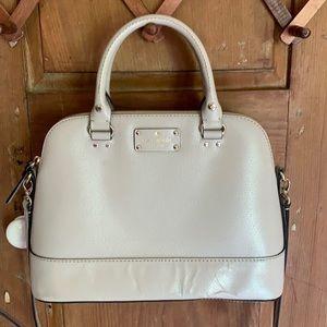 Kate Spade Wellesley Saffiano leather satchel bag